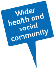 Wider health and social community